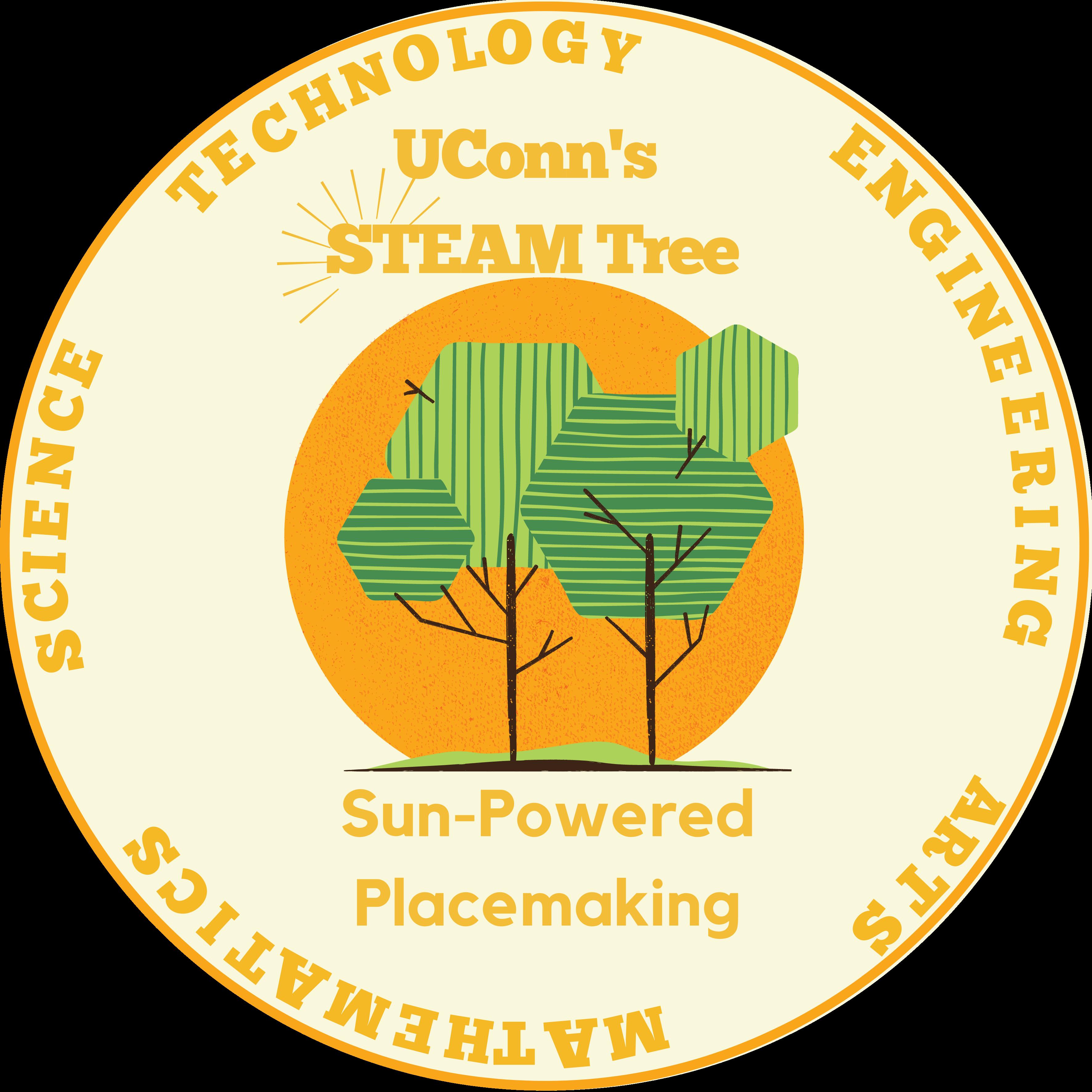 UConn STEAM Tree LOGO