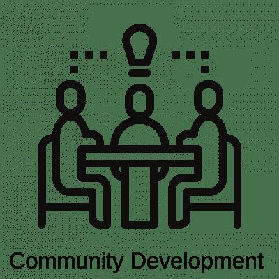 logo for community development