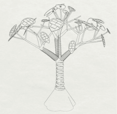 concept of the tree by Christopher Sancomb