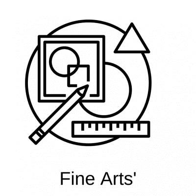 logo for fine arts